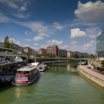 The Danube Canal / Vienna 2018