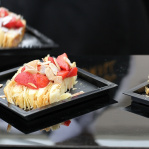 English strawberry mille feuille / Savoy Grill (Taste of London 2013)